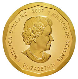 The world's largest gold bullion coin