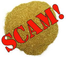 Alluvual Gold Dust - Buyer Beware!