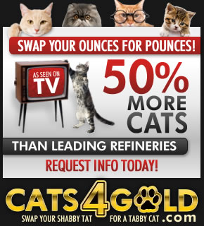 Get cats for gold!