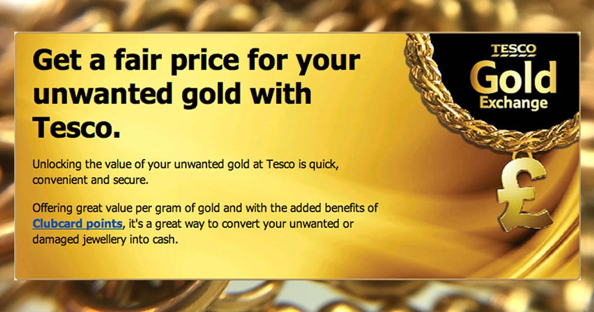 Tesco Gold Exchange