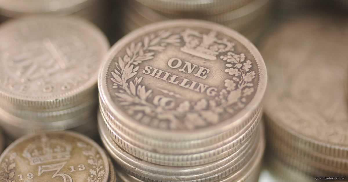 Pre-decimal silver coin calculator