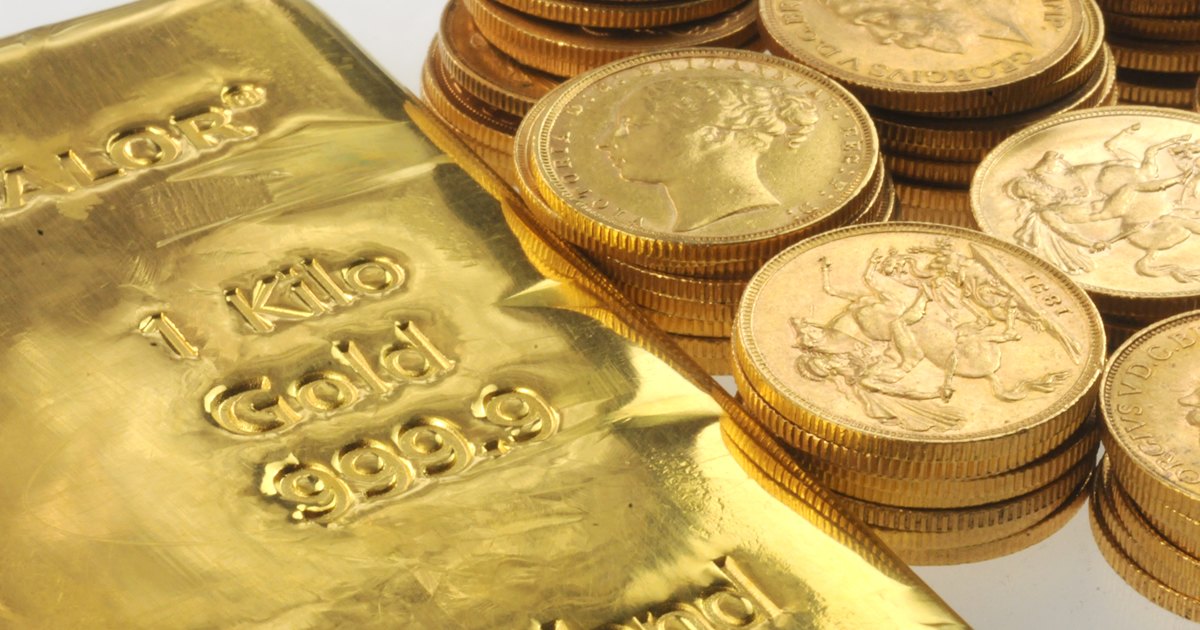 Buying and selling bullion by post