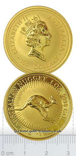 Australian Nugget Gold Coin