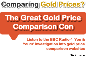 Comparing gold prices?