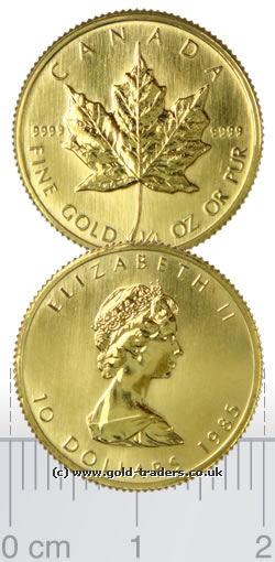 Canadian Gold Maple Leaf Coins
