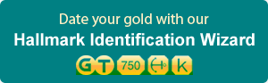 Date your gold with our Hallmark Identification