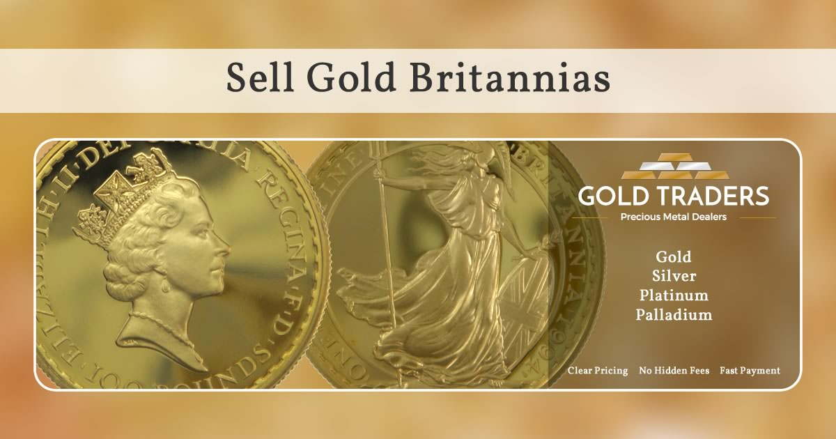 4 Coin Gold Britannia Set