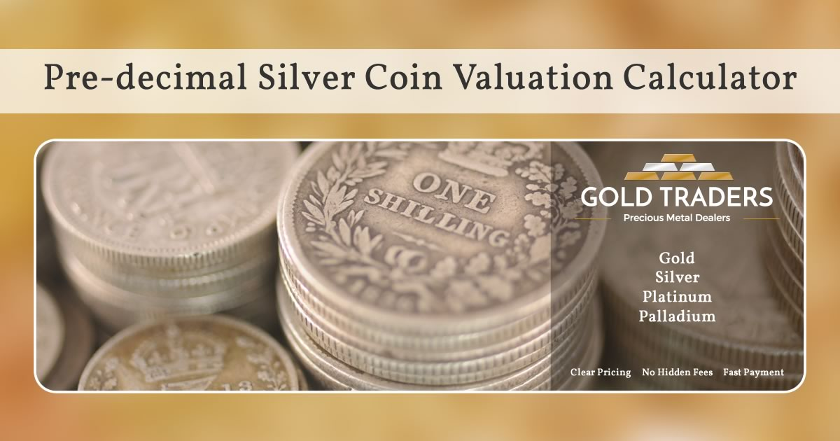Pre Decimal Silver Coin Valuation Calculator