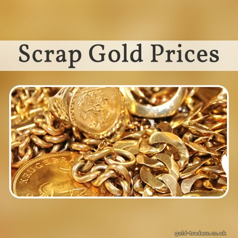 Scrap Gold Prices UK