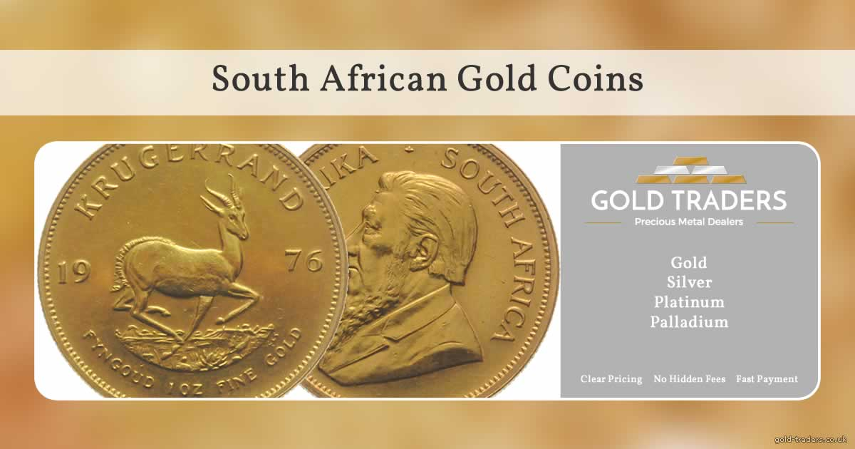 Sell South African Gold Coins